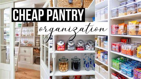 cheap kitchen organization pantry organization cheap pantry transformation 2113