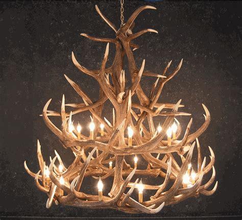 elk 18 antler chandelier sale