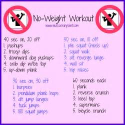 Upper Body Workouts No Weights
