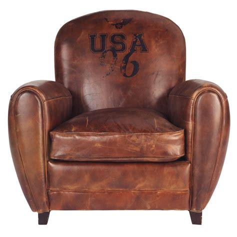 canapé vintage maison du monde fauteuil marron oxford maisons du monde
