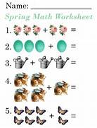 Lilac Lavender Kids Spring Math Worksheets This Is A Free Printable Easter Math Addition Worksheet For Kids In First Grade Math Worksheets Printable Khayav Fruits And Vegetables Math Worksheets