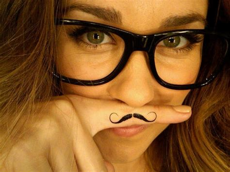 unique mustache tattoos