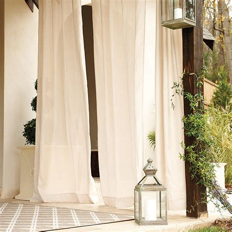 sunbrella outdoor curtains for a better home interiors