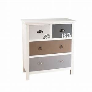 meuble 4 tiroirs meubles macabane meubles et objets de With meuble 4 tiroirs
