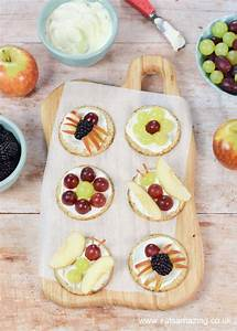 Fun Snack for Kids: Fruity Bug Oat Cakes