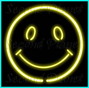 Second Life Marketplace Neon 032 SMILE NEON SIGN
