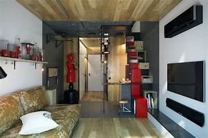 Micro Home Design: Super Tiny Apartment of 18 Square Meters