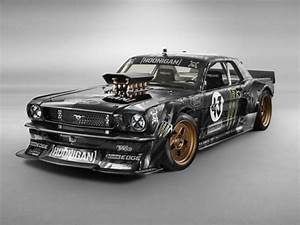 Ken Block's Wildly Modded '65 Mustang Puts Out a Nonsensical 845 HP | WIRED