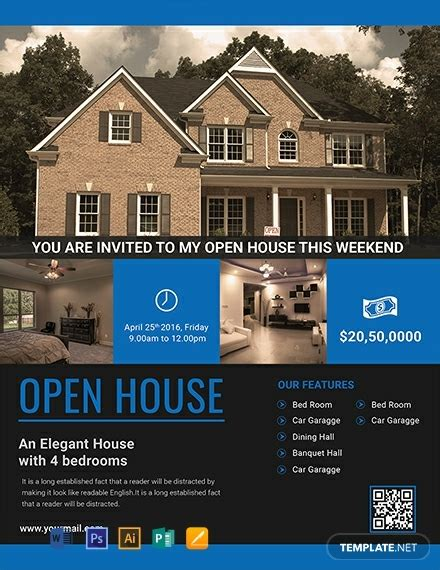 Permalink to Open House Flyer Examples