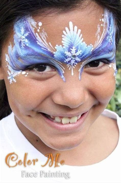 frozen painting frozen makeup color me