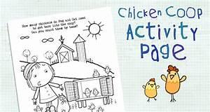 Chicken Coop Coloring Page   Activities   Peg   Cat