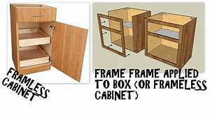 The Difference Between Frameless And Faceframe Cabinets