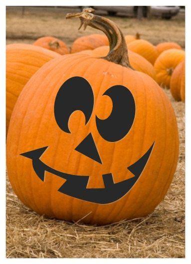 cute halloween pumpkin carving jack olantern pattern