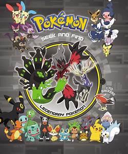 Pokémon Seek and Find - Legendary Pokemon | Book by VIZ ...  Pokemon