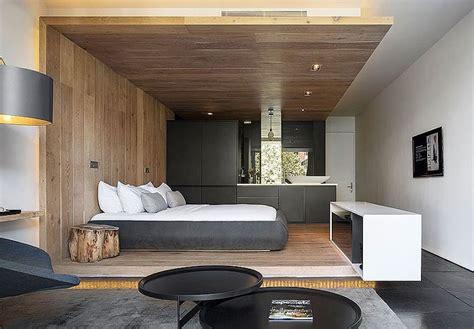 deco chambre moderne déco de chambre moderne avec meubles et surfaces en bois
