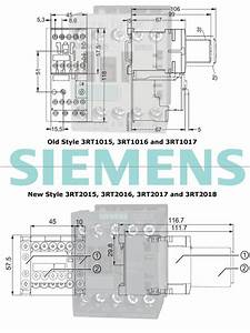 Siemens 3rt201 Series Replaces The Existing 3rt101 Contactors