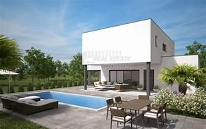 Haus Und Garten Messe 2017 : modernes haus mit pool garten und meerblick in malinska domino immobilien krk ~ Whattoseeinmadrid.com Haus und Dekorationen