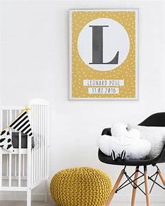 Buchstaben Deko Kinderzimmer : typografisches buchstaben poster mit eigenem text machen ~ Orissabook.com Haus und Dekorationen
