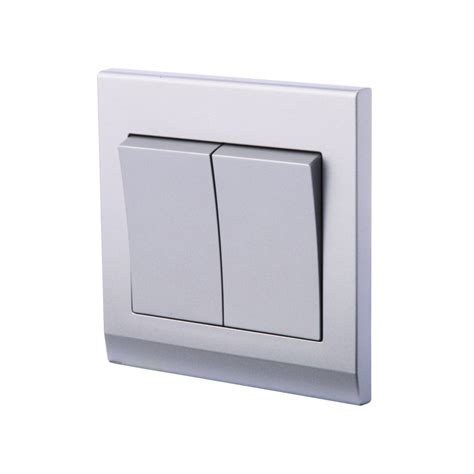 simplicity mechanical light switch 2 mid grey retrotouch designer light switches