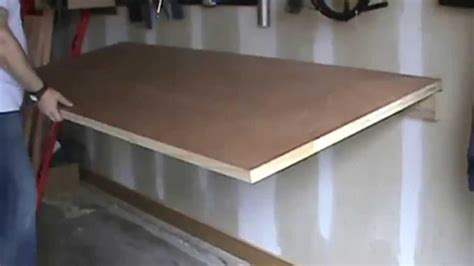 foldable work bench youtube