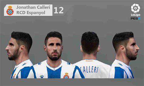 ultigamerz: PES 6 Jonathan Calleri (RCD Espanyol) Face