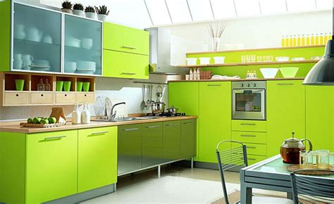 green apple kitchen салатовая кухня дизайн фото 1345
