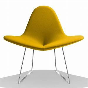 Petit Fauteuil Design : petit fauteuil design jaune my flower sur cdc design ~ Teatrodelosmanantiales.com Idées de Décoration