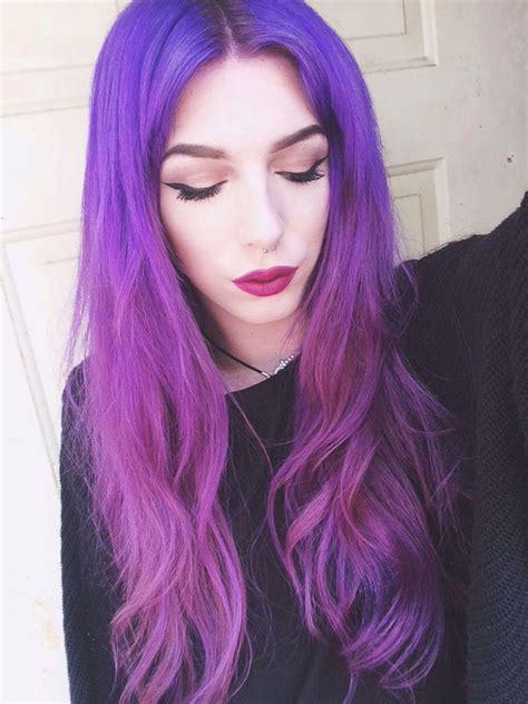 Top 20 Purple Ombre Hair Trends Hair Colors Ideas