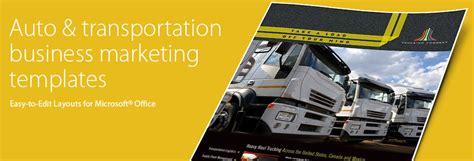 automotive transportation brochures flyers word