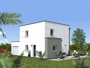 Façade Maison Moderne : maison contemporaine syrius 3ch neology ~ Melissatoandfro.com Idées de Décoration
