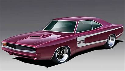 Muscle Cars Rod Rods Dodge 1968 Charger