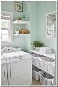 laundry room makeovers Laundry Room Makeover - Sand and Sisal