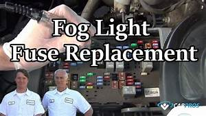 Fog Light Fuse Replacement