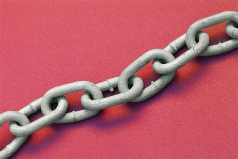 metal chain  red background  stockarch  stock