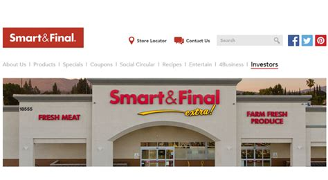 Smart & Final Reports Robust Private Label Sales  Store