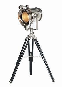 Stehlampe Retro Design : stehleuchte waterford studiolampe vernickelt retro design 9469 ebay ~ Frokenaadalensverden.com Haus und Dekorationen