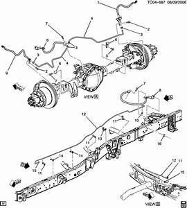 33 2000 Chevy Silverado Emergency Brake Cable Diagram