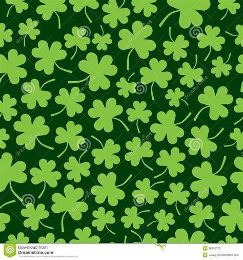 seamless shamrock pattern stock photo image