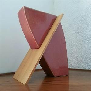 Vase En Céramique : vase en c ramique et bois lampodrome ~ Teatrodelosmanantiales.com Idées de Décoration