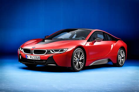 red bmw world premiere bmw i8 protonic red edition