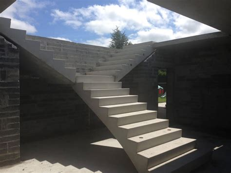 concrete stair design formwork  construction sydney