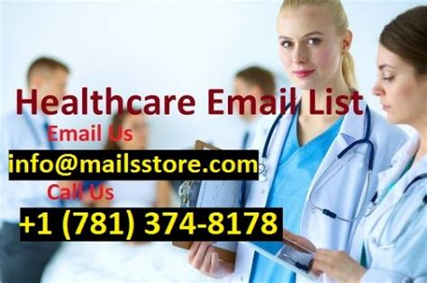 healthcare email list mailing  mailis store