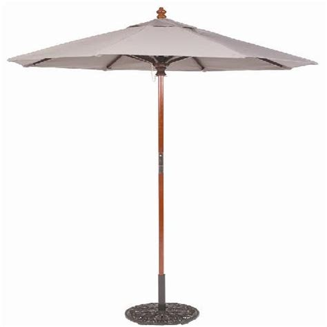 galtech 6 cafe bistro wood umbrella a smart choice for