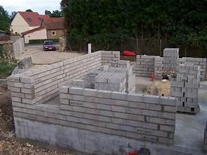 Monter Mur En Parpaing : montage des murs ~ Premium-room.com Idées de Décoration