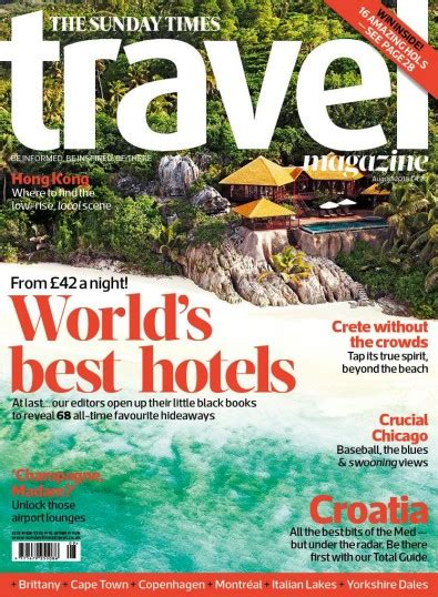 sunday times travel magazine subscription isubscribecouk