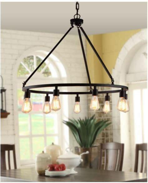 edison light fixture rustic chandelier farmhouse