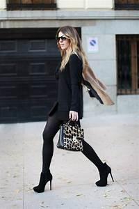 28 idees comment porter les bottines a talon cet hiver With look robe et bottines
