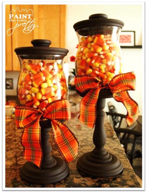 autumn crafts for adults great diy project that can be used for any holiday ideas pinterest fall candy candy corn