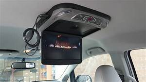 Installation 12 U0026quot  Roof Mount Flip Down Dvd Player With