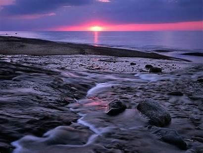 Sky Wallpapers Sunset Backgrounds Desktop Background Lake